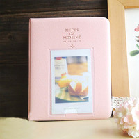 Fujifilm Instax Mini Film Album Polaroid Instant Photo Album Pink