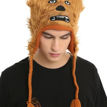 Star Wars Chewbacca Furry Face Beanie