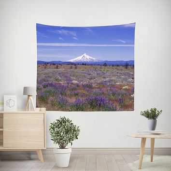 Mt Hood Oregon Wall Tapestry - 4 Sizes