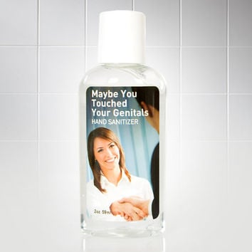 Maybe You Touched Your Genitals Hand Sanitizer at Firebox.com