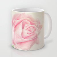 Simple Rose Mug by Susaleena