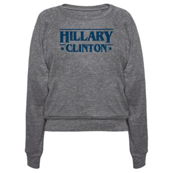 HILLARY CLINTON THINGS PARODY PULLOVERS