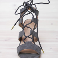 Therapy Shoes - Forest Heels - Grey
