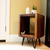 Nightstand, furniture, table, bedside table, night stand, end table, rustic, living room, wood, bedroom furniture, side table, modern