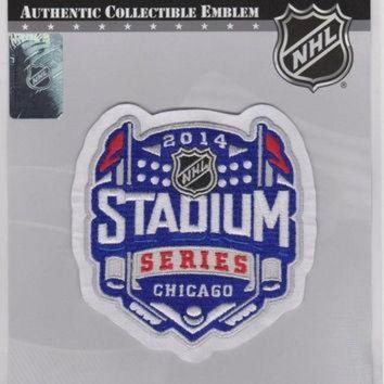 DCCKWV6 2014 NHL Stadium Series Game Logo Jersey Patch (Chicago)