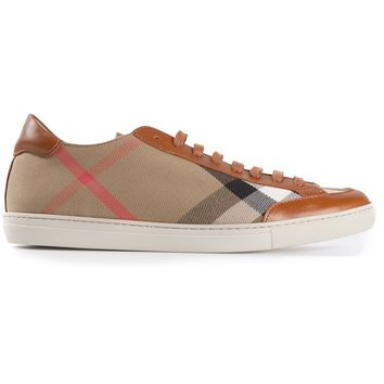 Burberry London 'Hartfields' Check Sneakers