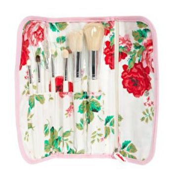 Cath Kidston New Rose Bouquet Make-Up Brush Set at asos.com