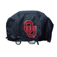 Oklahoma Sooners Grill Cover Deluxe