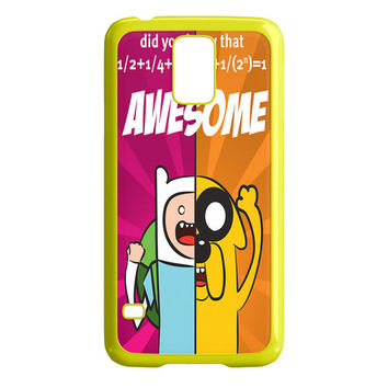 FINN AND JAKE 1 Adventure Time iPhone Samsung Galaxy S5 Case