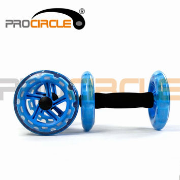 AB Wheel Roller Body Exerciser Rollers with Double Wheels