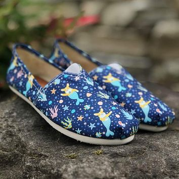 Corgi Mermaid Casual Shoes