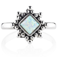 River Song Snow Opal Ring – Shop Dixi