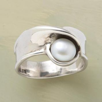 pearl s nest ring single rings from sundance catalog