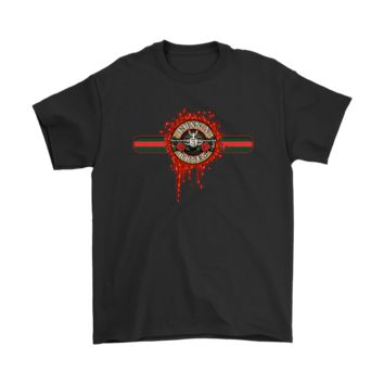 KUYOU Gucci Band Guns N' Roses Music Band Logo Shirts