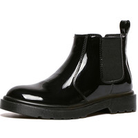 Round Toe Thick Short Martin Boots Ankle Boots