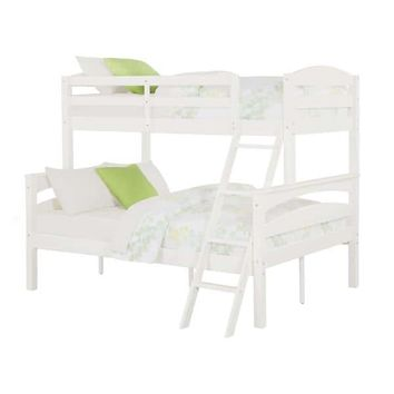 Dorel Living Brady Wood Twin-over-Full Bunk Bed | Overstock.com Shopping - The Best Deals on Kids' Beds