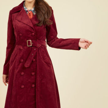 Layer on the Luxury Trench | Mod Retro Vintage Coats | ModCloth.com