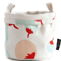 Canvas Bucket - Poms