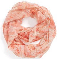 David & Young 'Tie Dye' Infinity Scarf (Juniors)