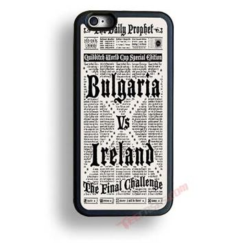 Harry Potter Daily Prophet iPhone case, Samsung case, iPhone 7 cases