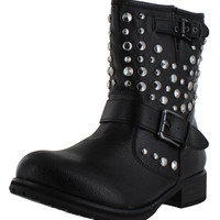 Chelsea Crew Glade Women's Studded Ankle Combat Boots