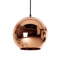 Reproduction of Tom Dixon's Copper Shade Mirror Ball Pendant Lamp | GFURN