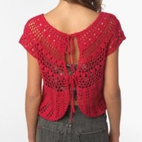 Ecote Crocheted Tieback Top