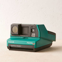 Impossible Project Green Impulse Rare Polaroid Camera - Urban Outfitters