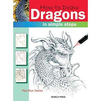 How to Draw Dragons in Simple Steps (How to Draw)
