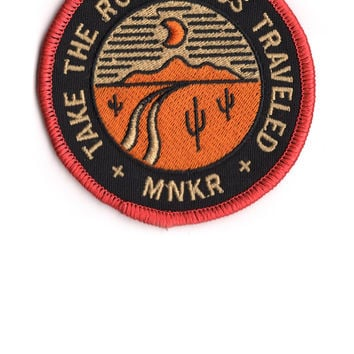 Road Less Traveled Patch