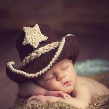 Cowboy Hat, Newborn Photo Prop, Cowboy Boots, Western Hat, Cowgirl Boots, Cowboy Party, Western Boots, Cowgirl Hat, Cowboy Baby Shower