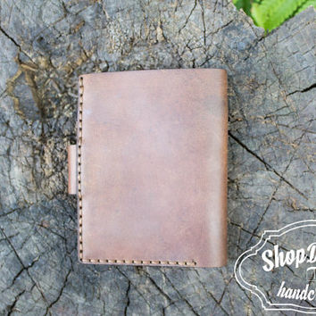 Compact Wallet, Minimalist Wallet, Card Holder, Brown Leather Wallet, Men's Wallet