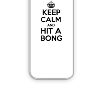 keep calm and Hit a Bong - iPhone 5&5s Case