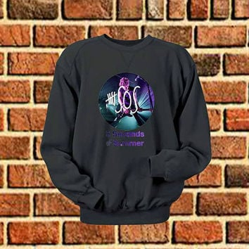 5 Seconds Of Summer art sweater Sweatshirt Crewneck Men or Women Unisex Size