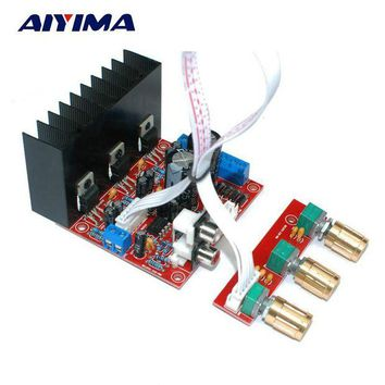 ac NOOW2 Aiyima TDA2030A 2.1 Subwoofer Amplifier Board Three-channel Speaker Audio Bass Amp Board