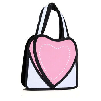 3D Tote Bag Lovely Purse [6048252545]