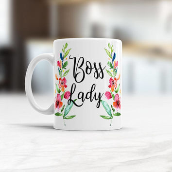 Boss Lady Mug, Boss coffee Mug, Gift for Boss Lady, Funny Office cup, I'm The Boss ceramic tea mug, Lady Boss Mug, Boss Lady Coffee Mugs