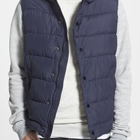 Men's Scotch & Soda Quilted Hooded Vest