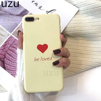 Compatible with iPhone Candy color phone case be loved hard pc back cover