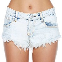 One Teaspoon Bonitas Cutoff Shorts - Classic