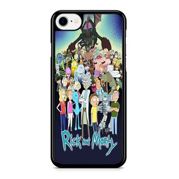 Rick And Morty iPhone 8 Case