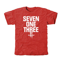 Houston Rockets Area Code T-Shirt - Red