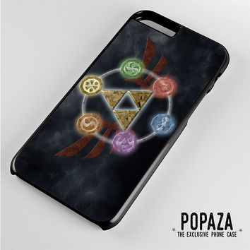 Zelda Triforce Element iPhone 6 Plus Case Cover