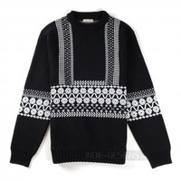 Indie Designs Chloé Inspired Wool Knit Jacquard Sweater