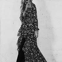 Free People Womens Celestial Maxi Dress