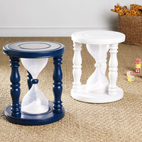 Time Out Timer Stool? - Navy | Stools & Ottomans | Wisteria