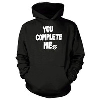 5 Seconds of Summer Logo Luke Hemmings you complete me mess hoodie >>>  Size S M L XL XXL 3XL  <<<