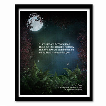 Midsummer Night's Dream Quotes Cool Best Shakespeare Midsummer Night's Dream Products On Wanelo