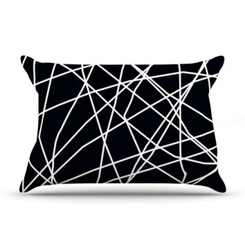 "Trebam ""Paucina"" Crazy Lines Pillow Case"
