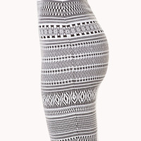 Blurred Lines Knee Length Skirt